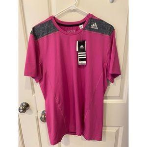 **NWT** Adidas Tech Fit Shirt